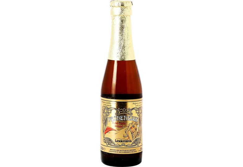 Bottled beer - Lindemans Pêcheresse