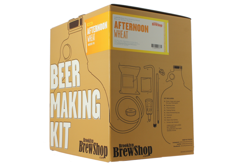 Beer Kit - Brooklyn Brew Kit Afternoon Wheat