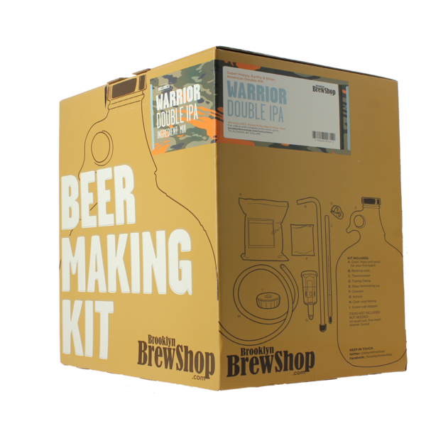 Brooklyn Brew Kit Warrior Double IPA