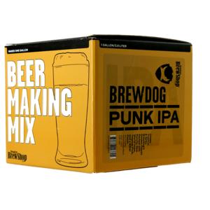 Navulling brouwpakket Brooklyn brew kit Brewdog Punk IPA