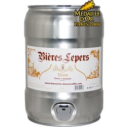 Fûts de bière - Fût 5L Lepers 8 - SPI