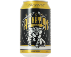 Bottled beer - Stone Ruination Double IPA