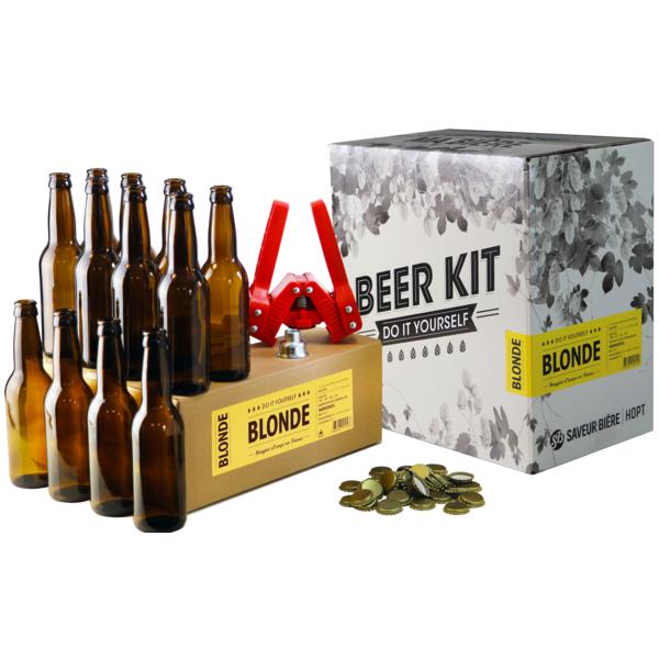 Beer Kit complet blonde + recharge