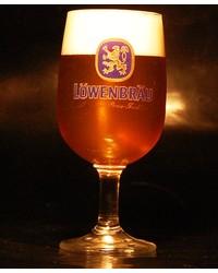 Biergläser - Glas à pied Lowenbrau