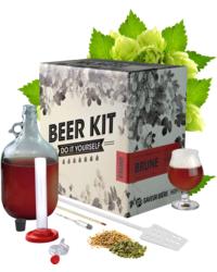 Brouwpakketten om bier te brouwen - Brouwpakket, Beerkit Dubbel (M)