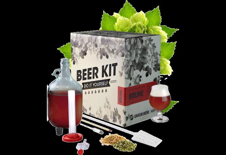 Ölkit - Beer Kit complet, je brasse une brune d'abbaye !