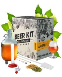 Brouwpakketten om bier te brouwen - Brouwpakket, Beerkit Amber bier (M)