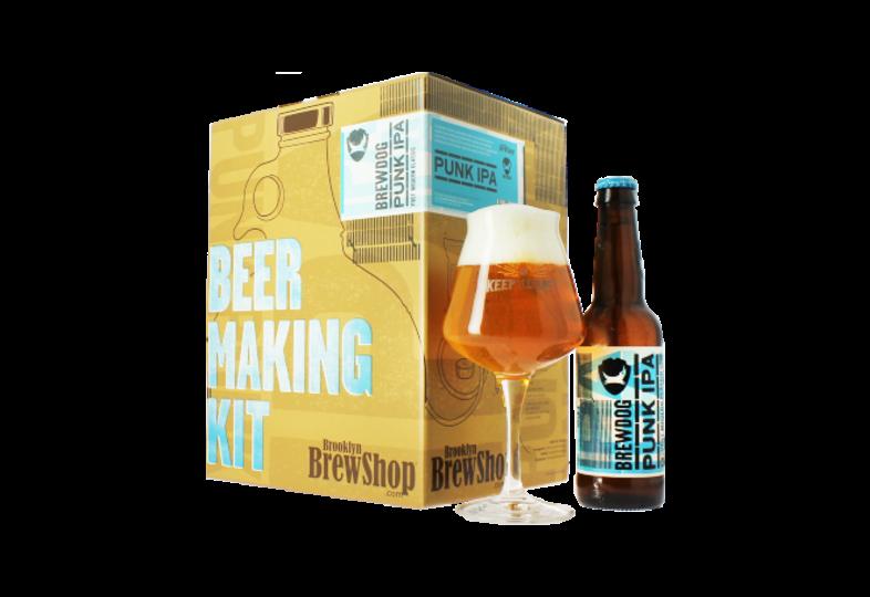 Beer Kit - Cofanetto Brewdog Punk IPA degustazione e brassaggio