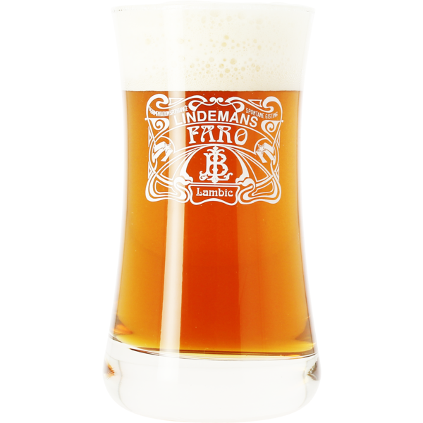 Lindemans Faro 25cl Bock glass