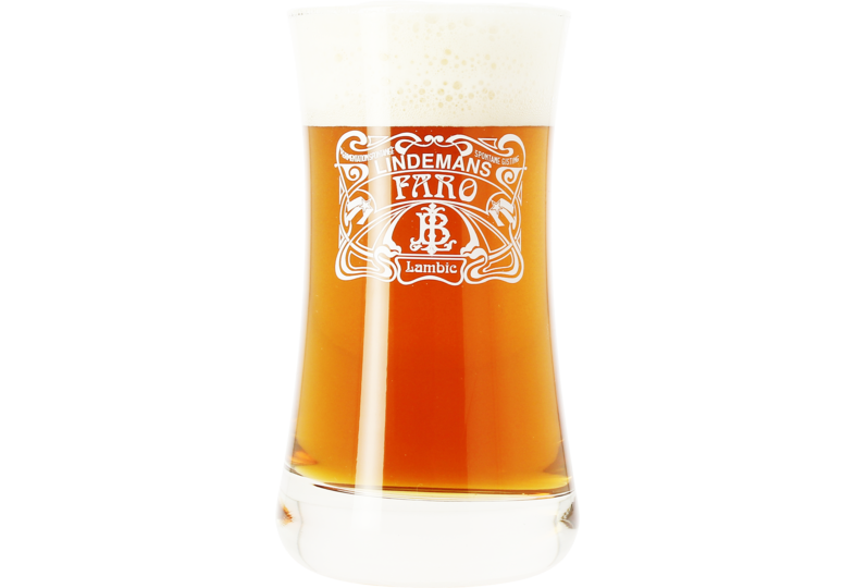 Beer glasses - Lindemans Faro 25cl Bock glass