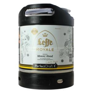 Leffe Royale Mount Hood PerfectDraft 6-liter Fass