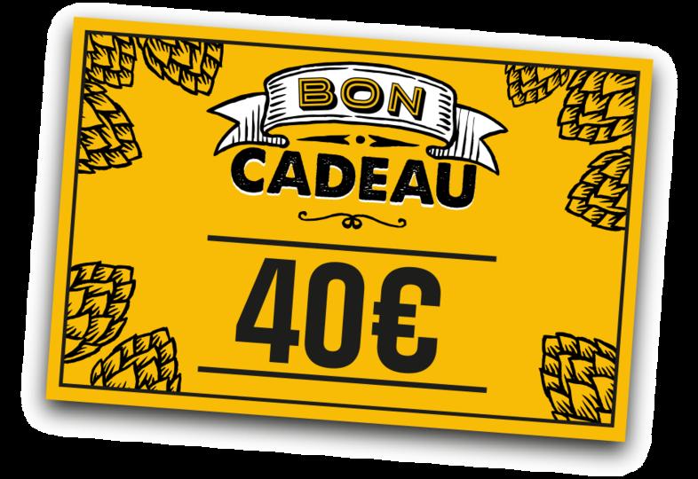 - Cadeaucheque 40 euro