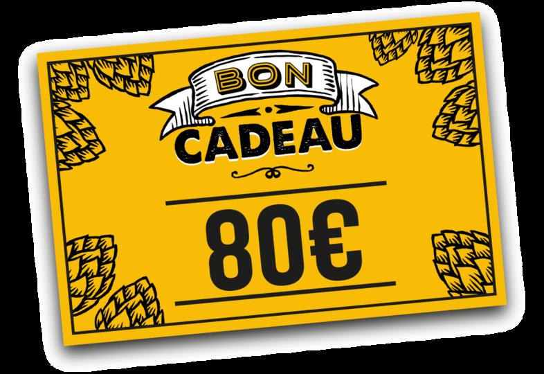 - Cadeaucheque 80 euro