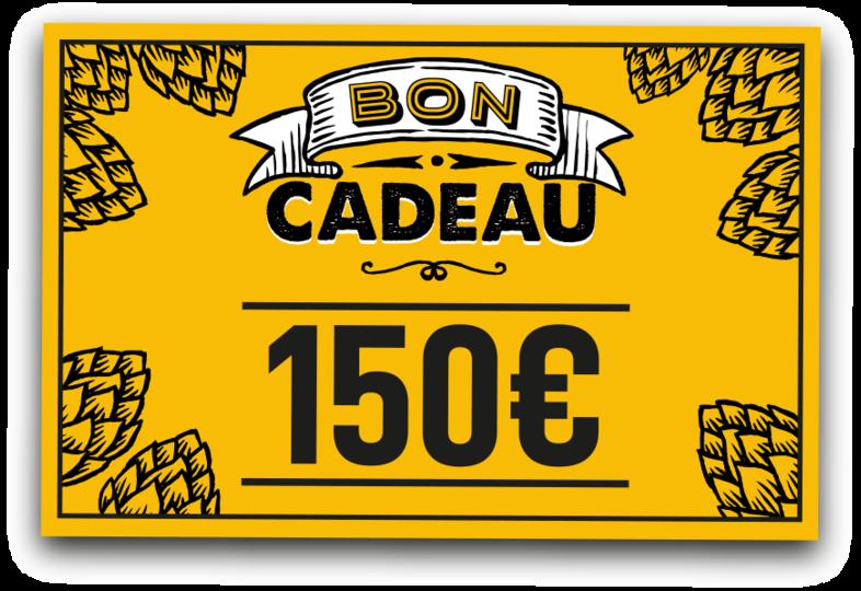 Chèque cadeaux - E-carta regalo 150 euro