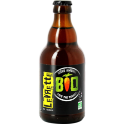 Bottled beer - Levrette Bio