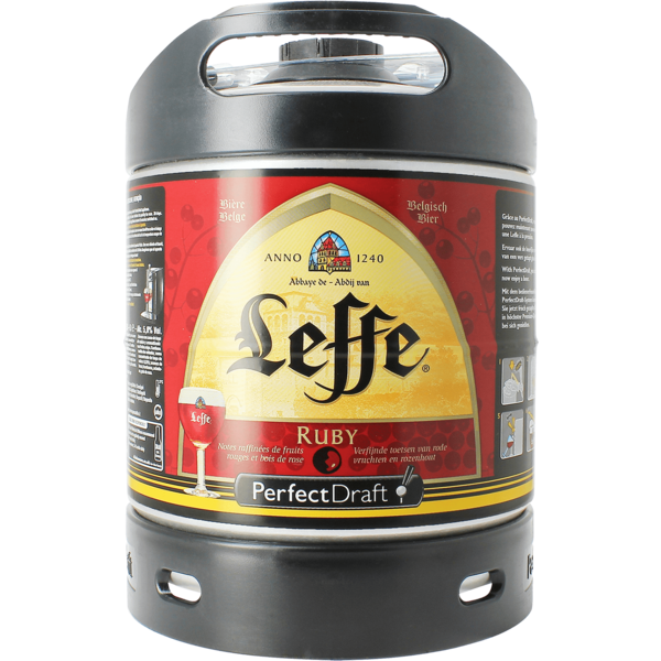 Tapvaatje 6L Leffe Ruby Perfect Draft