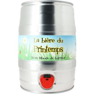 Fût 5L Bière de Printemps - Lorraine