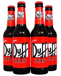 Duff Beer - Lot de 4 Duff Beer