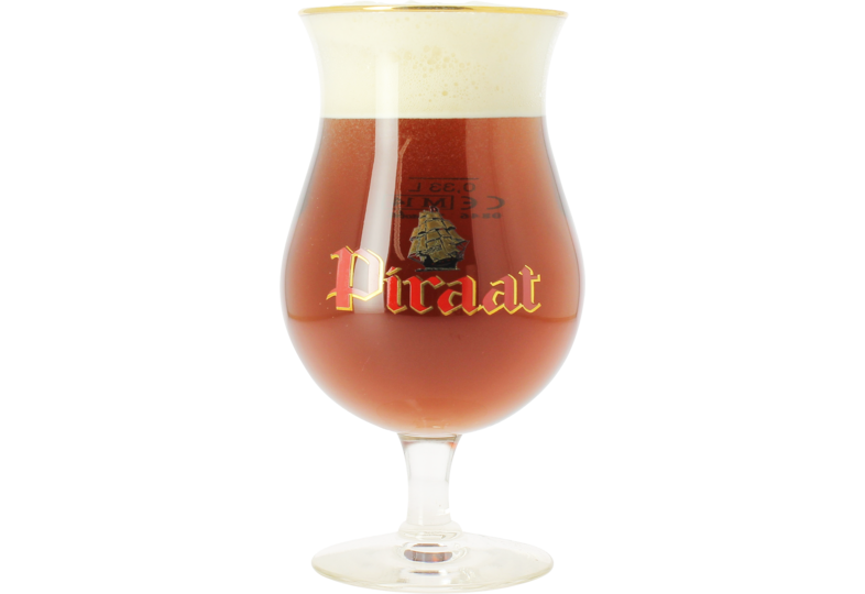 Beer glasses - Piraat 33cl glass