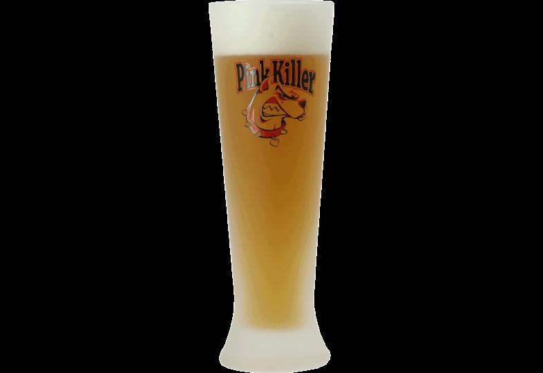 Beer glasses - Pink Killer 25cl glass