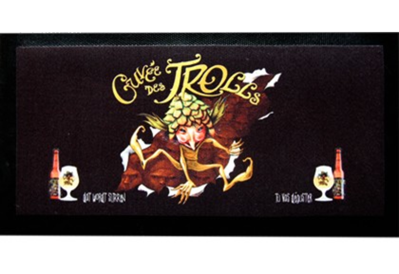 Serviettes et tapis de bar - Tapis de bar Cuvée des Trolls