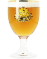 Verres à bière - Verre Grimbergen col doré - 25 cl