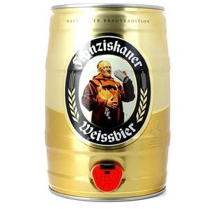 Franziskaner weissbier 5L Keg