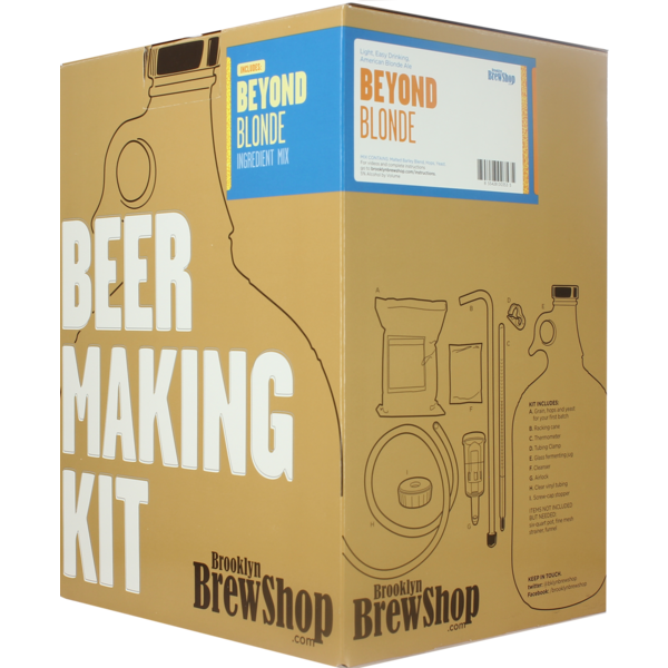 Brooklyn Brew Kit Beyond Blond