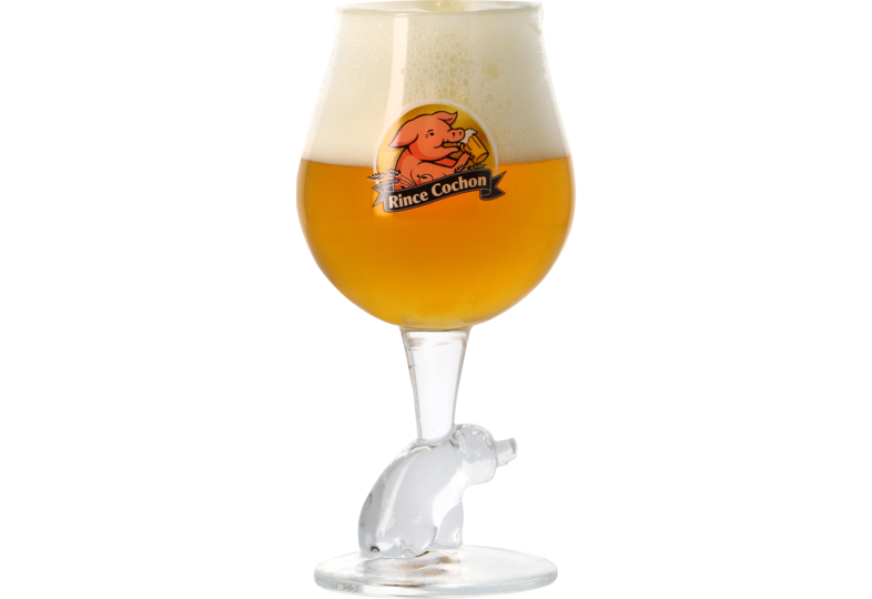 Beer glasses - Rince Cochon - 50cl glass
