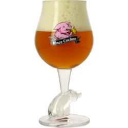 Beer glasses - Rince Cochon - 25cl glass