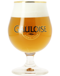 Beer glasses - Gauloise 33cl glass