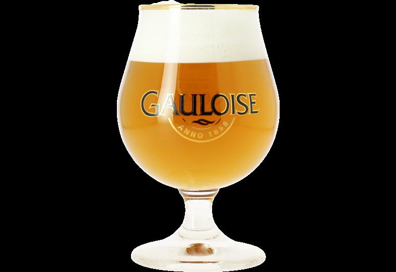 Verres à bière - Verre Gauloise - 33 cl