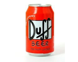 Bouteilles - Duff Beer - Canette