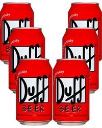 Bouteilles - Pack de 6 Duff Beer - Canette