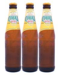 Bonnes Affaires - Bière & verre - Lot de 3 Cobra