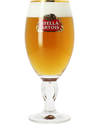 Beer glasses - Stella Artois 33cl stem glass