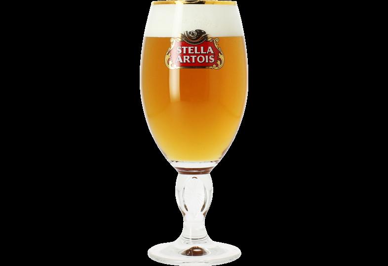 Verres à bière - Verre Stella Artois à pied - 33 cl