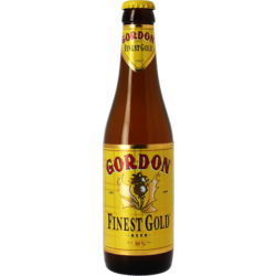 Bottled beer - Gordon Finest gold