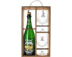 Gåvor - Tripel Karmeliet Gift Pack with Wooden Case