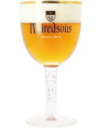 Bierglazen - Kelkglas met smalle voet van Maredsous 33 cl