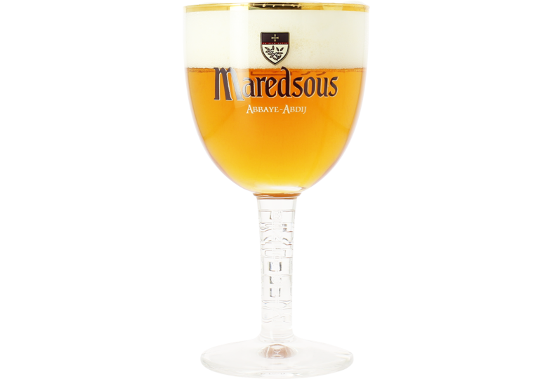 Beer glasses - Maredsous 33cl goblet  glass