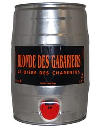 Kegs - keg 5L Blonde des Gabariers