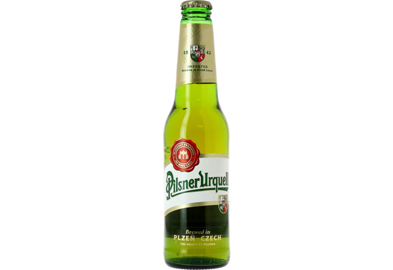 Bottled beer - Pilsner Urquell