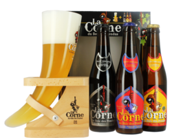 Gift box with beer and glass - Giftpack La Corne du Bois des Pendus