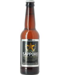 Bottled beer - Sapporo Premium Beer