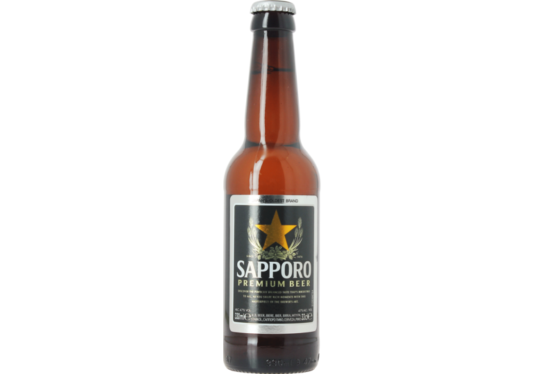 Flessen - Sapporo Premium Beer