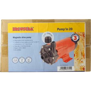 Pompe magnétique Brewferm Pump'in 20