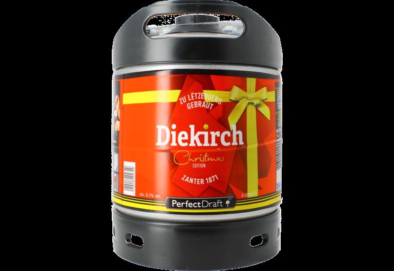 Fûts de bière - Fût 6L Diekirch de Noël
