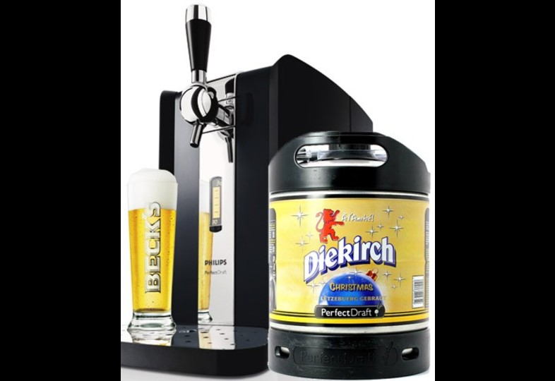 Tireuse à bière Perfectdraft - Perfectdraft HD 3620 + fût de Noël