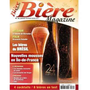 Bière Magazine 70 - Janv, Fev, Mars 2011